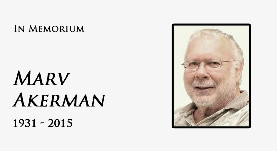 Marv Akerman In Memorium
